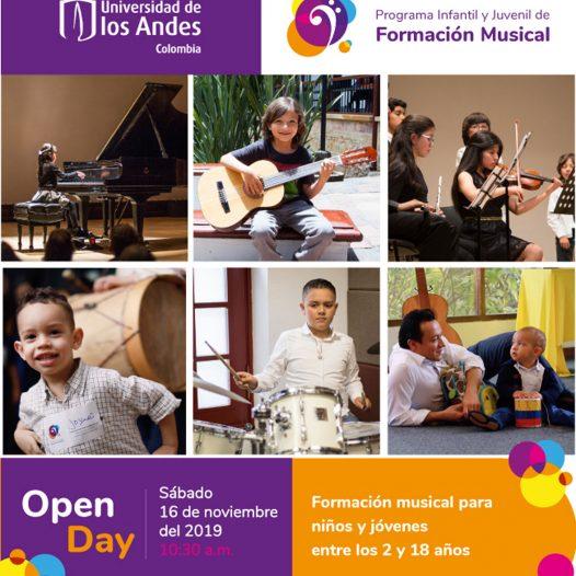 Open Day Programa infantil y juvenil de música