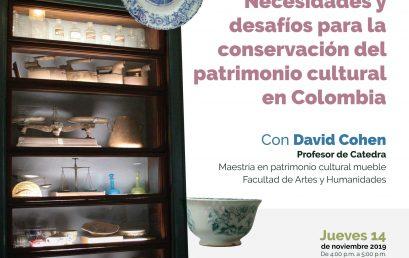 Necesidades y desafíos para la conservación del patrimonio cultural en Colombia