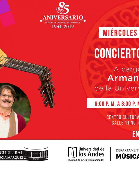 Concierto de laúd y canto con Armando Fuentes