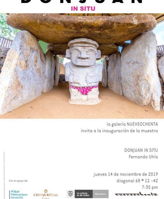 Exposición DONJUAN IN SITU de Fernando Uhía