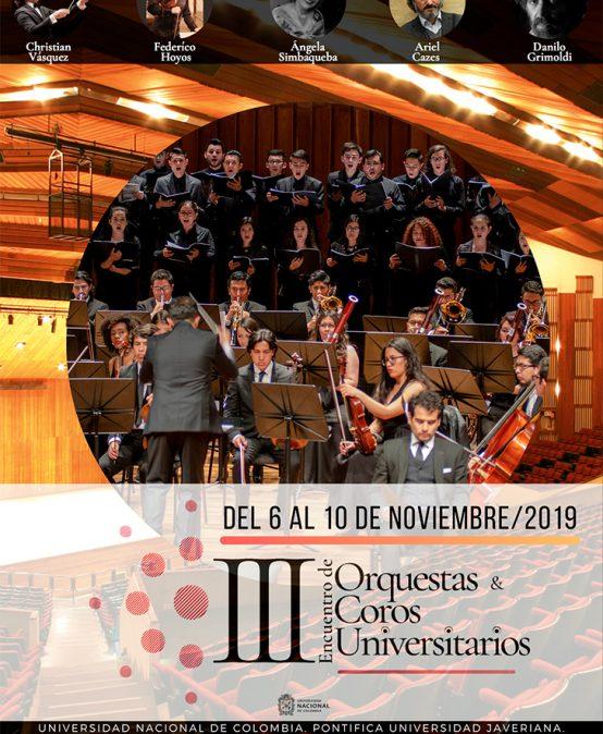 Concierto de clausura | III Encuentro de Orquestas y Coros Universitarios
