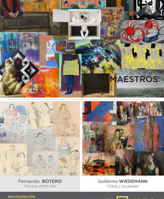 Tres exposiciones en la galería El Museo
