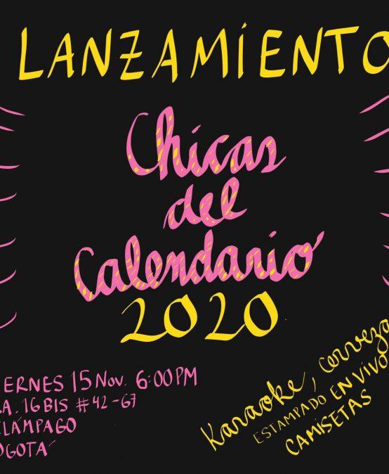 Lanzamiento Chicas del calendario 2020