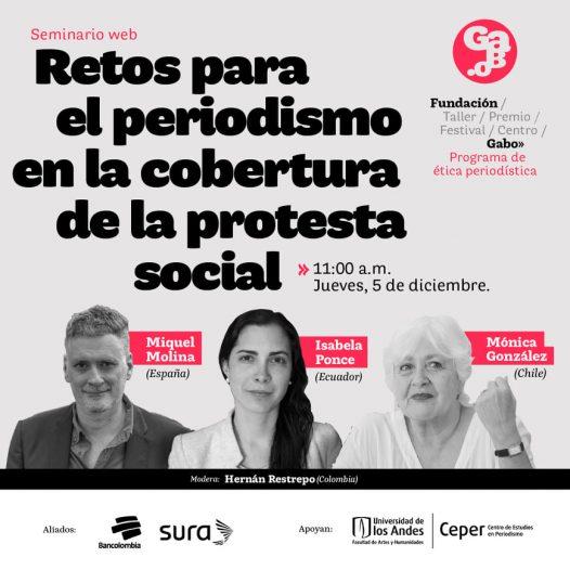 Retos para el periodismo en la cobertura de la protesta social