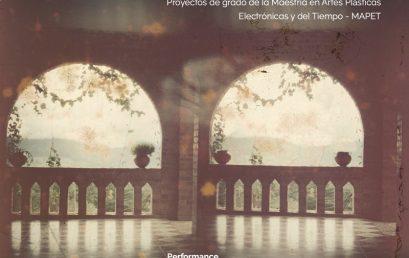 Perfomance Mnemofonías Taxonómicas de María A. Valencia