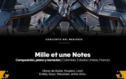 Concierto del mediodía: Mille et une Notes (Colombia, Estados Unidos y Francia)