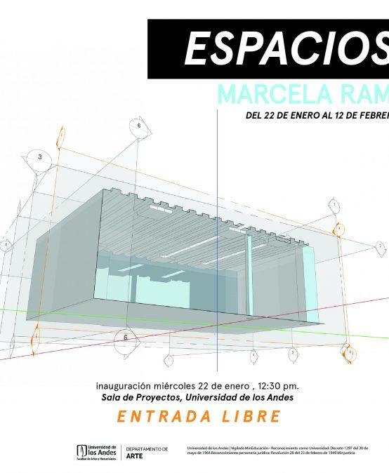 Exposición Espacios de Marcela Ramos