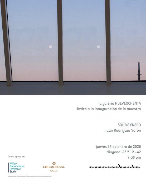 Exposición Sol de enero de Juan Rodríguez Varón
