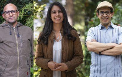 Tres nuevos profesores entran a Artes y Humanidades en el primer semestre del 2020
