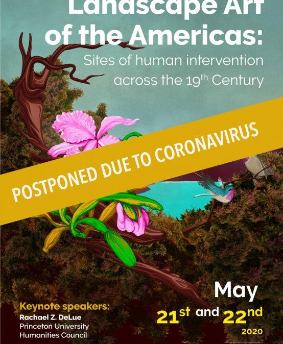 Aplazado – Simposio: Landscape Art of the Americas