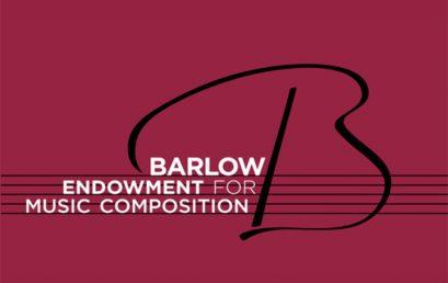 Convocatoria: Premio Barlow 2020 para composición de obra musical