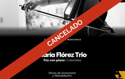Concierto del medidía: María Flórez Trío (Colombia)