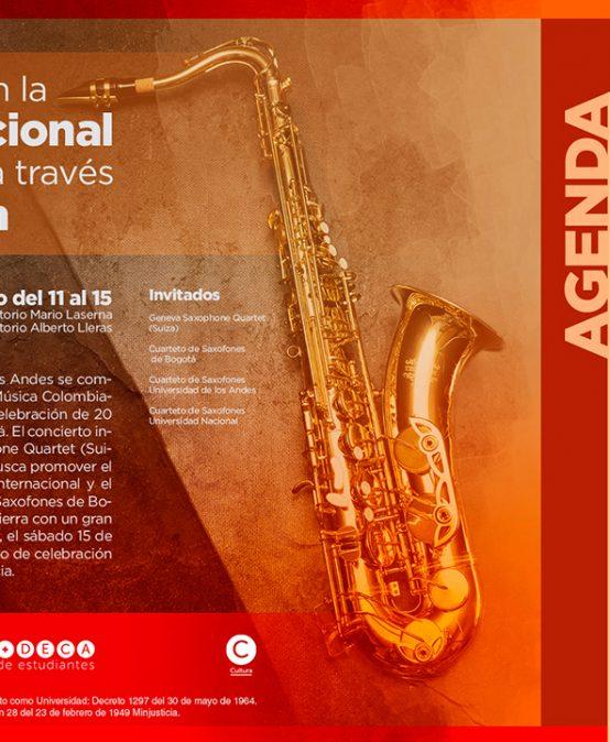 Encuentro con la música tradicional colombiana a través del saxofón