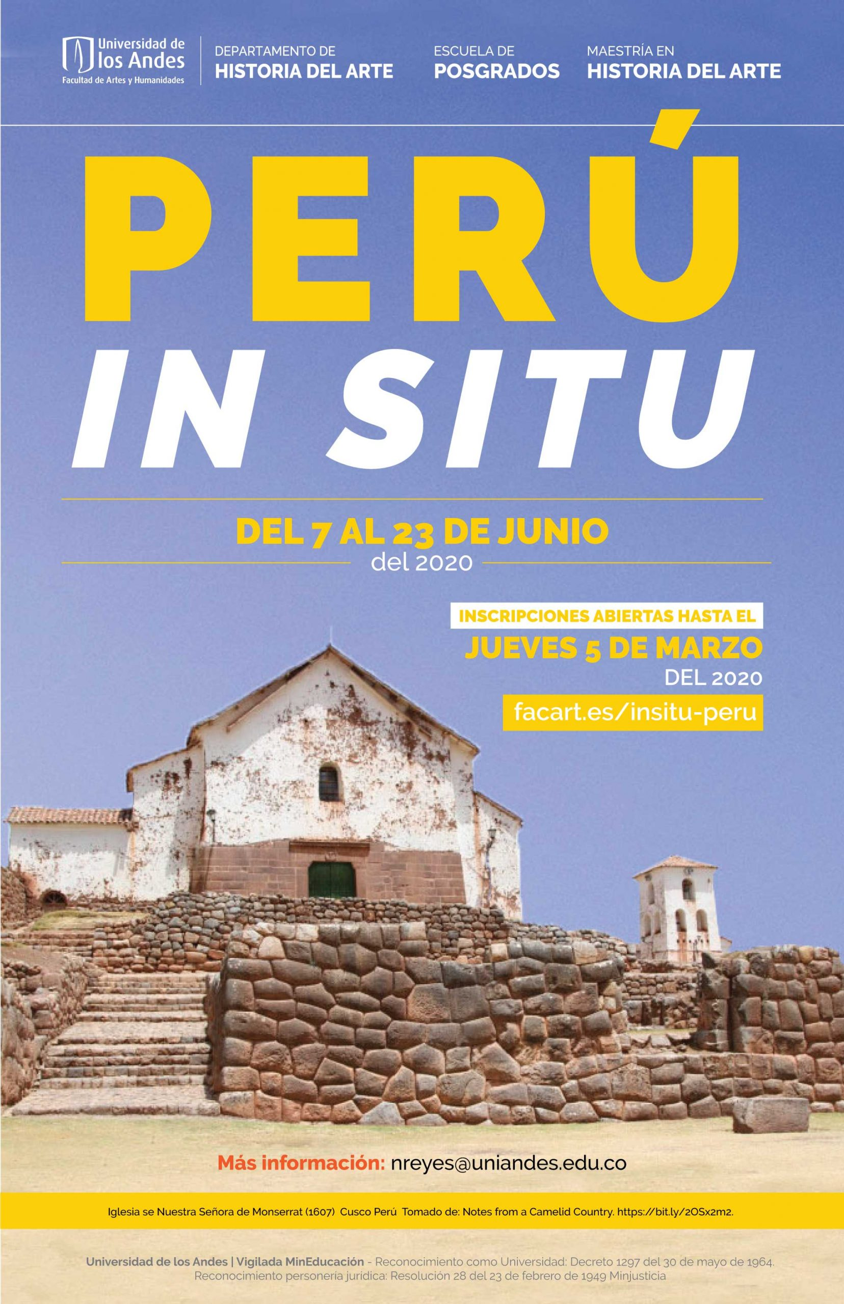 Perú in situ