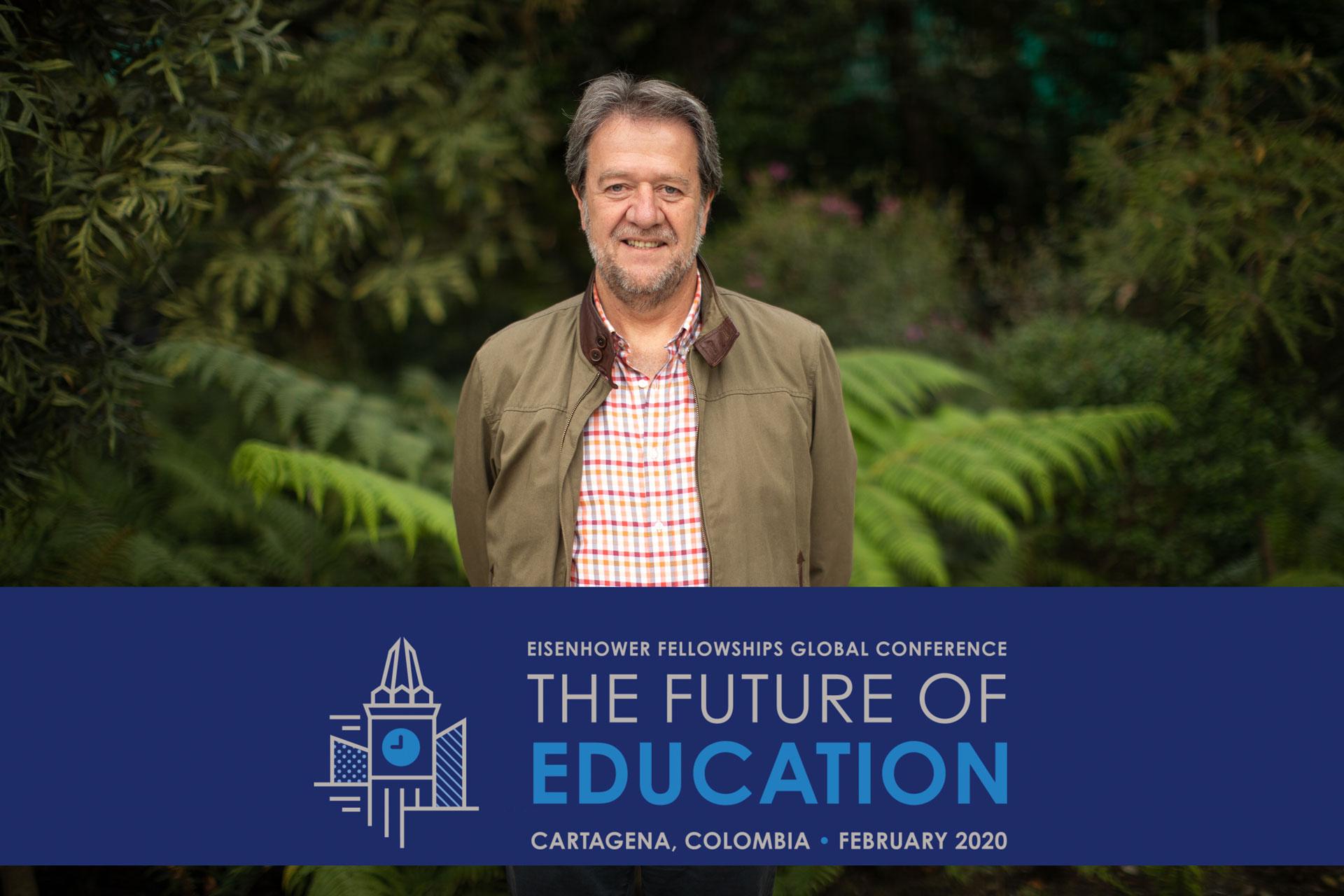 La música puede derribar barreras para educar: participación de nuestro profesor Oscar Acevedo en el foro The Future of Education