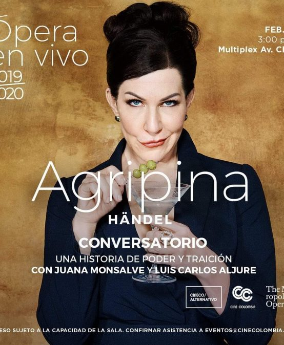 Conversatorio sobre ópera Agripina, de Georg Friedrich Händel