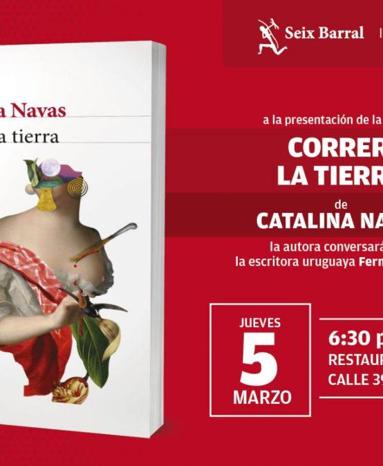 Egresada Catalina Navas presenta su libro Correr la tierra