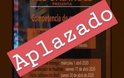 Aplazado – Concurso de grabación 2020