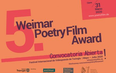 Convocatoria 5. Poetry Film Award