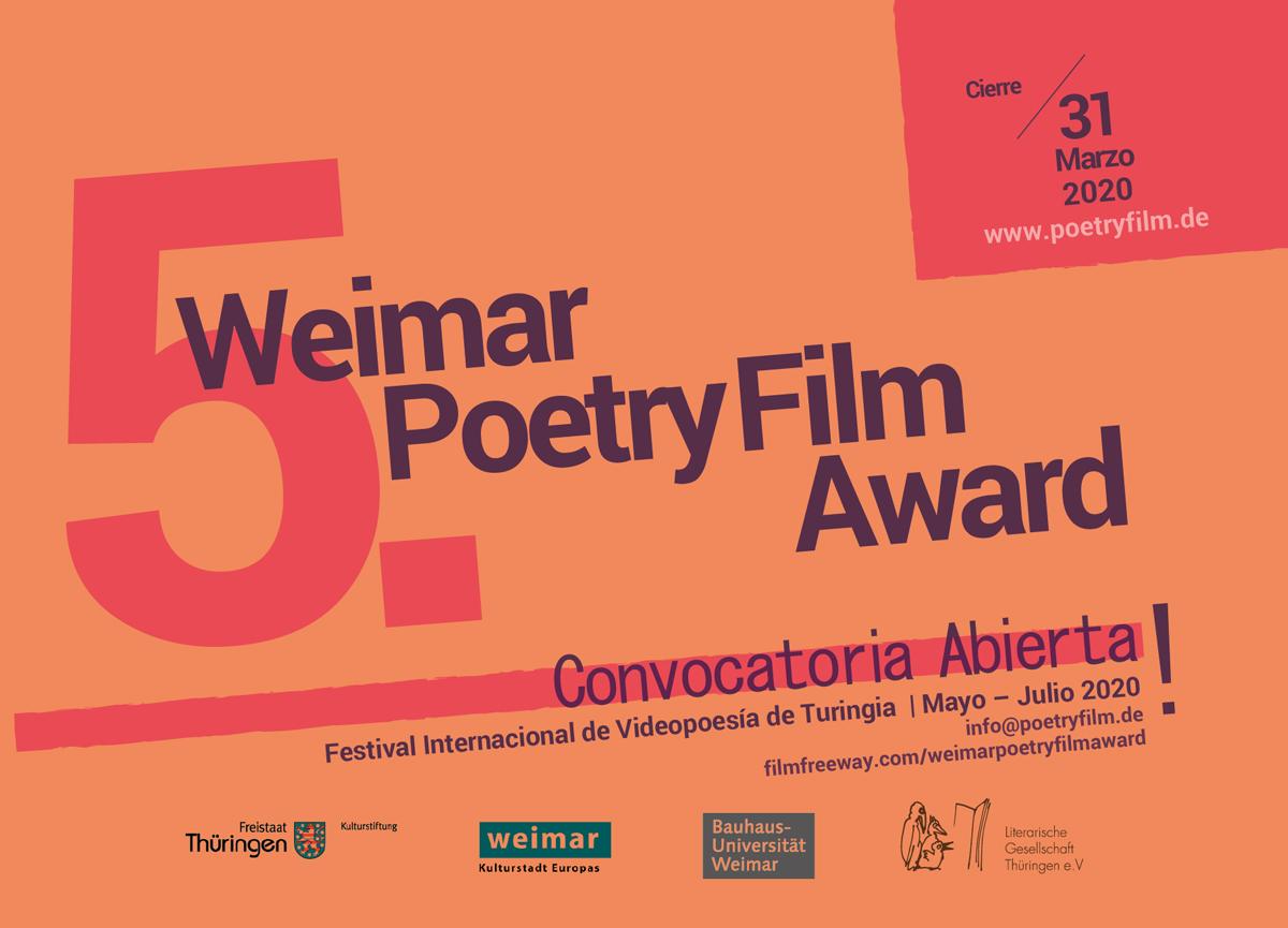 Convocatoria 5. Poetry Film Award