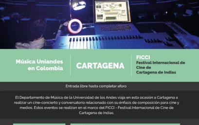 Música Uniandes en el Festival Internacional de Cine de Cartagena – FICCI 2020