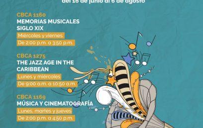 CBU's de Música 100% virtuales para el periodo intersemestral 2020