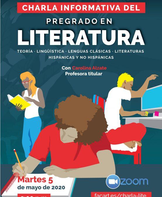 Charla informativa del Pregrado en Literatura