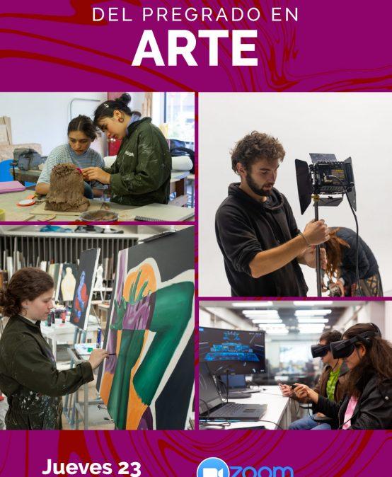 Charla informativa del pregrado en Arte