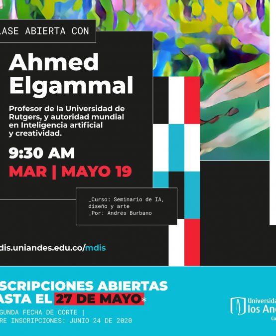 Clase abierta con Ahmed Elgammal