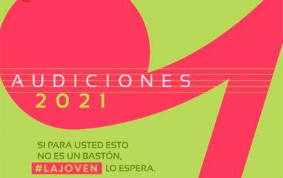 Audiciones 2021: Filarmónica Joven de Colombia