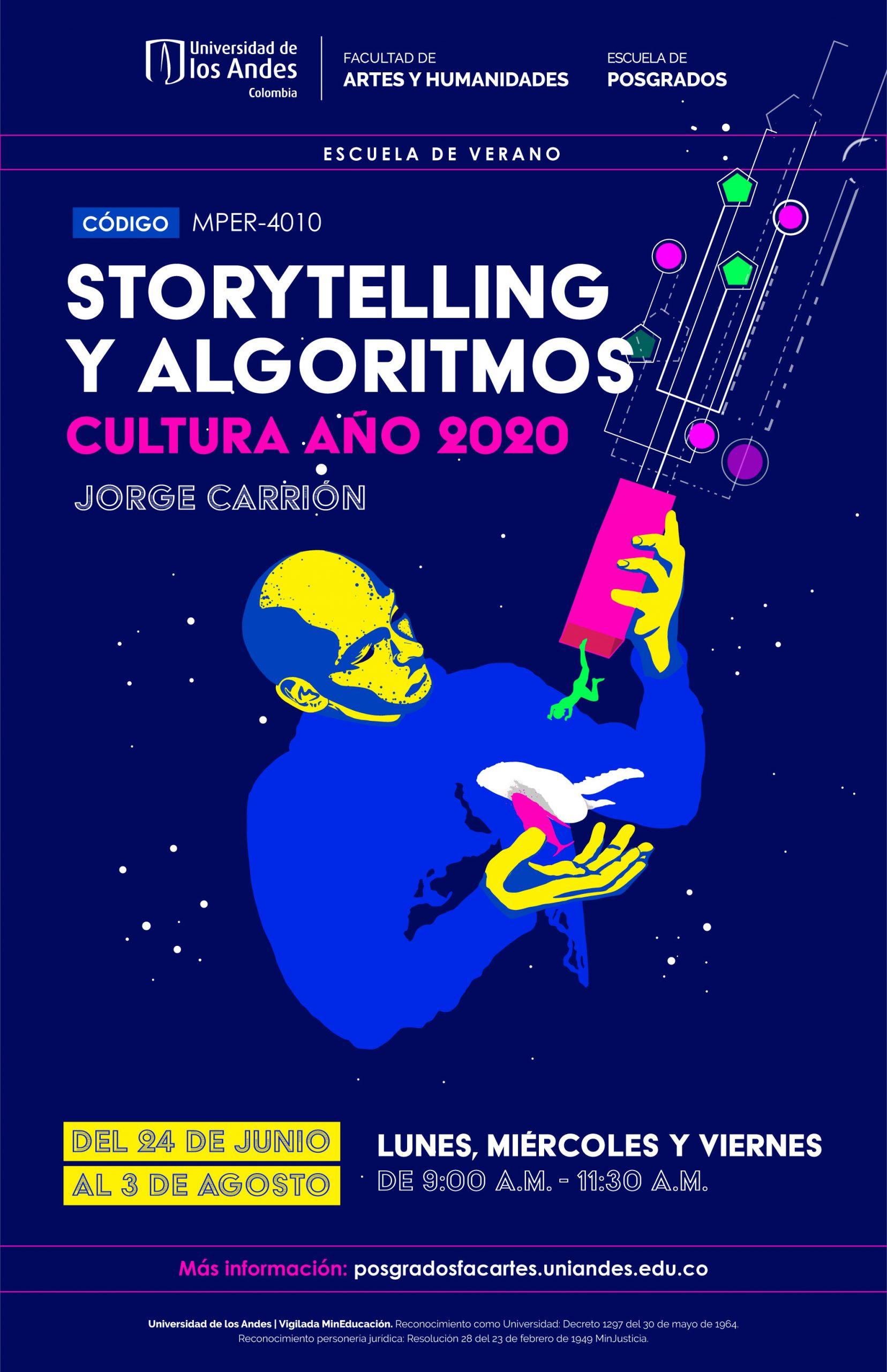 STORYTELLING Y ALGORITMOS: CULTURA AÑO 2020