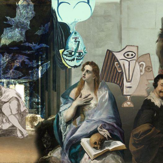 El Greco, Velázquez, Goya y Picasso
