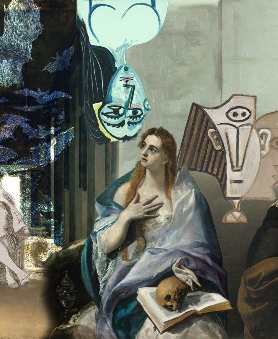 Greco, Velázquez, Goya y Picasso