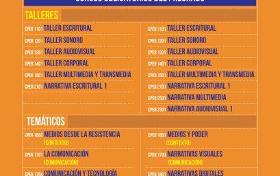 Oferta cursos CEPER pregrado 2020-2