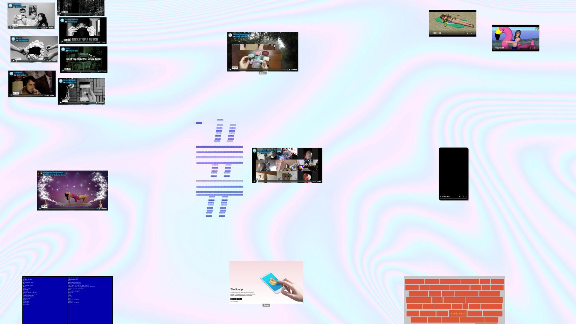 """La exposición """"La tercera parte"""" del colectivo Nmenos1: comentarios sobre el contacto y la comunicación de hoy"""