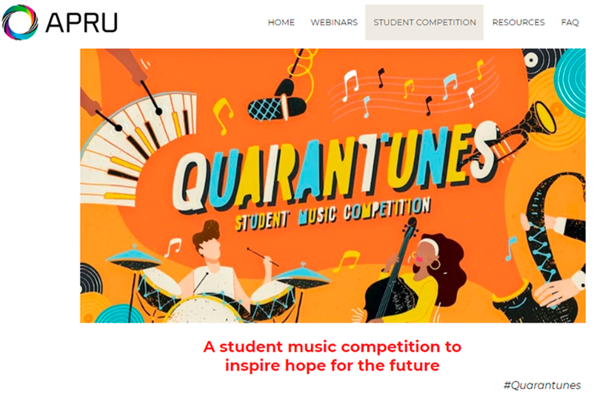 Quarantunes: Student music competition
