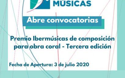 III Premio Ibermúsicas de Composición para Obra Coral