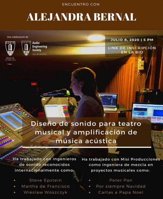Encuentro con Alejandra Bernal | Charlas AES