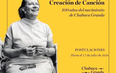 Concurso Iberoamericano 100 años del nacimiento de Chabuca Granda