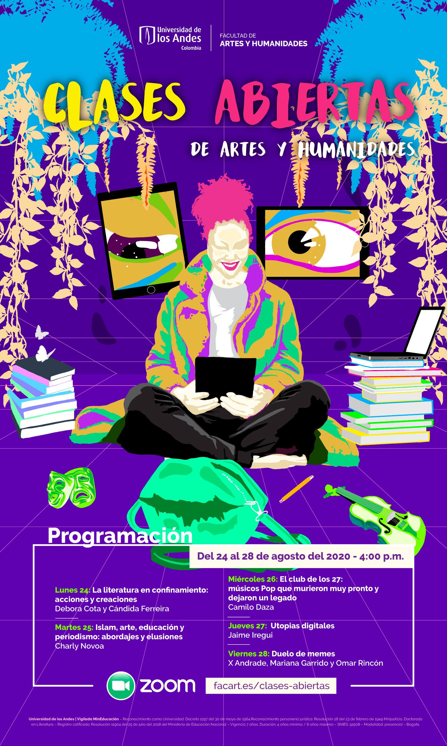 Decanatura Escuela De Posgrados Facultad De Artes Y Humanidades Universidad De Los Andes