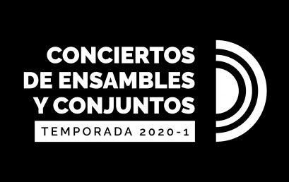 Temporada de Ensambles y Conjuntos: Concierto de A4M (primera parte)