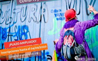 IberCultura Viva 2020: COVID-19 y Redes culturales comunitarias