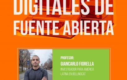 Taller inaugural de la Maestría en Periodismo: Investigaciones digitales de fuente abierta