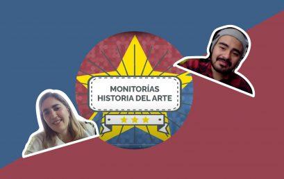 El equipo de Verónica Uribe y su monitor Felipe Rocha | Historia del Arte