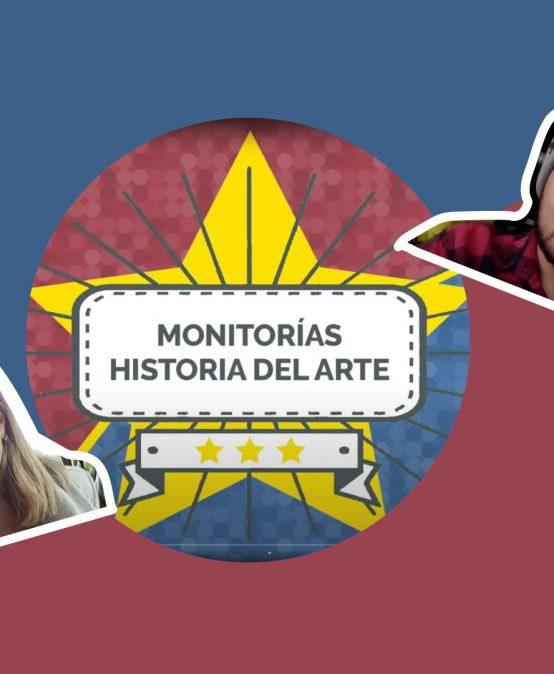 El equipo de Verónica Uribe y su monitor Felipe Rocha   Historia del Arte