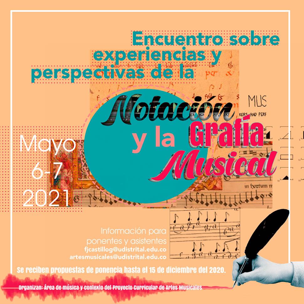 Convocatoria: Encuentro sobre experiencias y perspectivas de la notación y la grafía musical