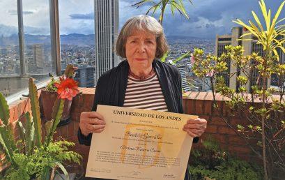 La Universidad de los Andes otorga doctorado honoris causa a Beatriz González
