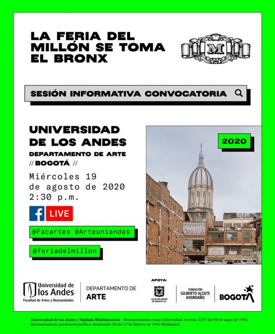 Sesión informativa convocatoria Feria del Millón
