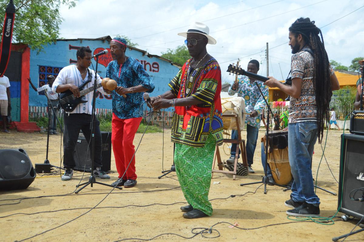 Espacio cultural de San Basilio de Palenque