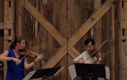 Concierto del mediodía: Duo Anthracite, dúo de violines (Colombia / Estados Unidos)
